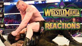 WWE WrestleMania 34 Reactions