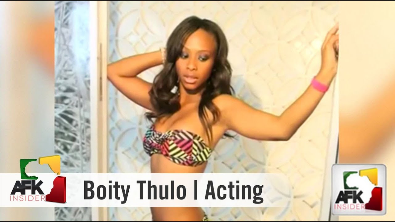 Boity Thulo Tells How She Got Into Acting | Part 1 of 3 - YouTube