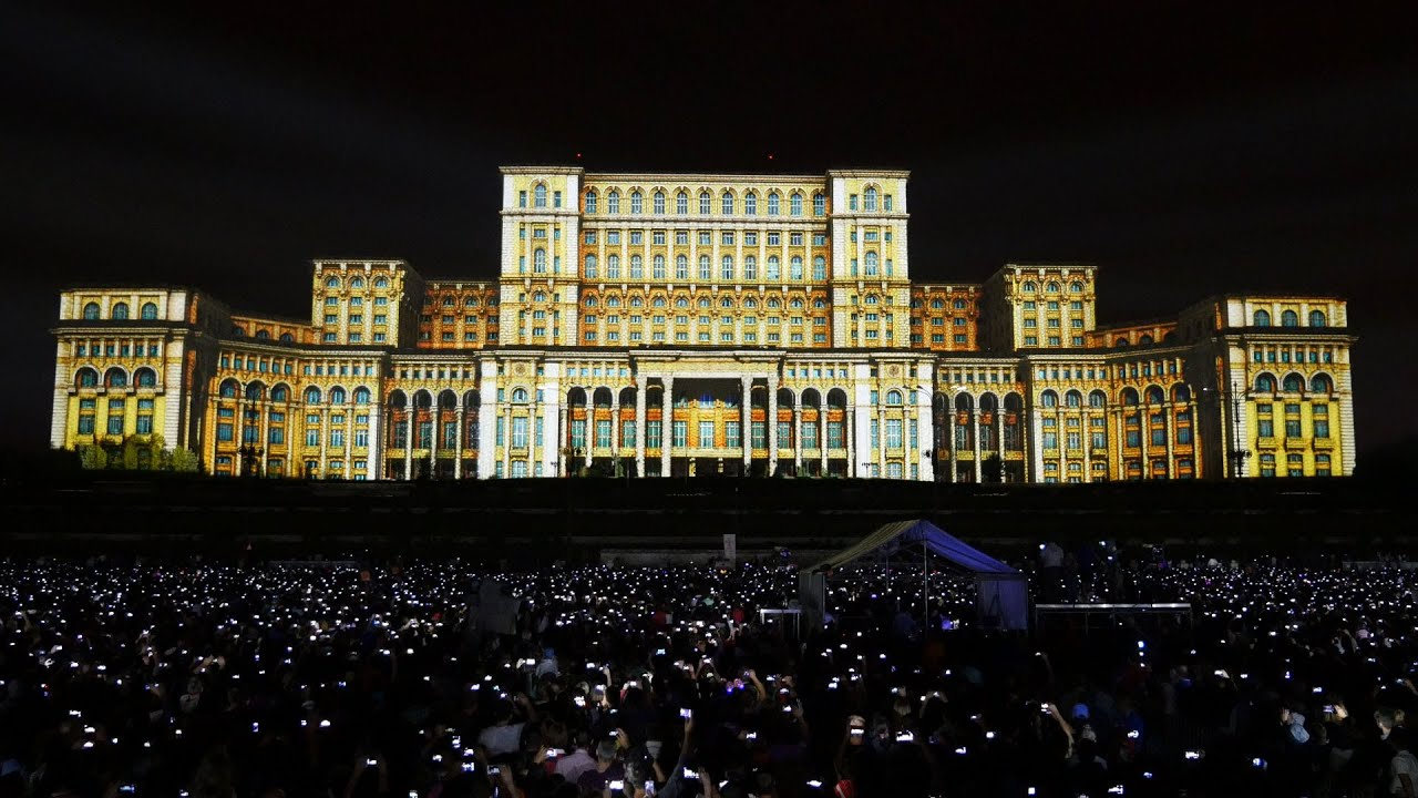 Imapp 555 Bucharest Building Projection Mapping By