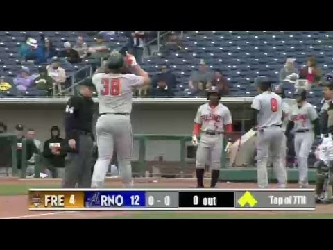 Fresno's Reed clubs a grand slam