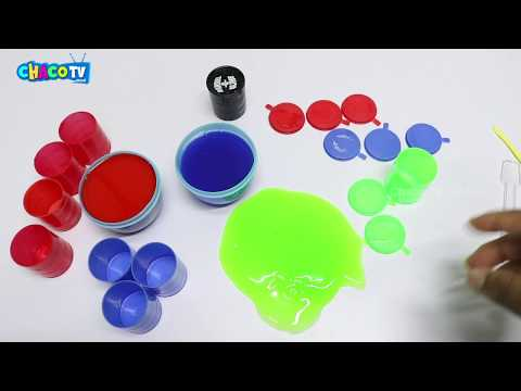 Mixing Random Colors Into Slime !! Relaxing Satisfying Slime Videos | CacoTV