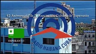 Programa Radio Havano Kubo Esperanto  8 -7 -2021
