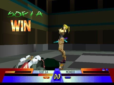 Battle Arena Toshinden 3 Epsxe Survival With Sofia 2 Wins Youtube
