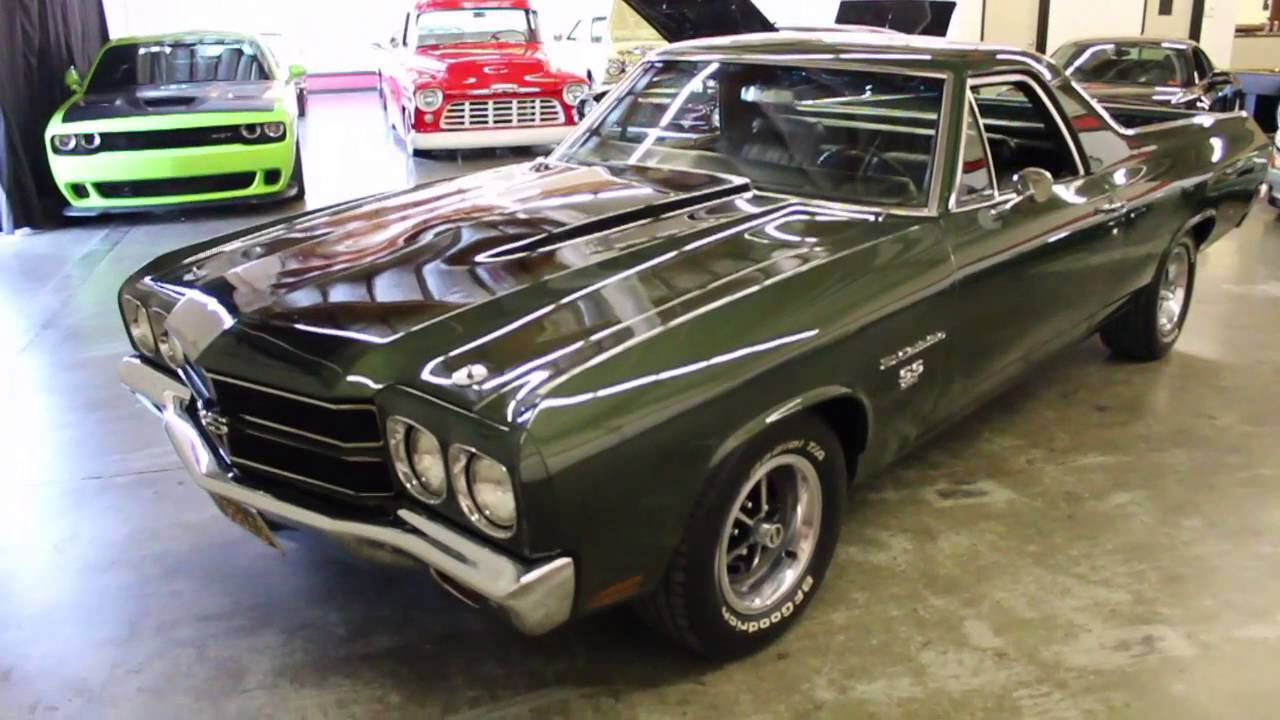 1970 chevrolet el camino ss 396 for sale at gt auto lounge youtube. Black Bedroom Furniture Sets. Home Design Ideas