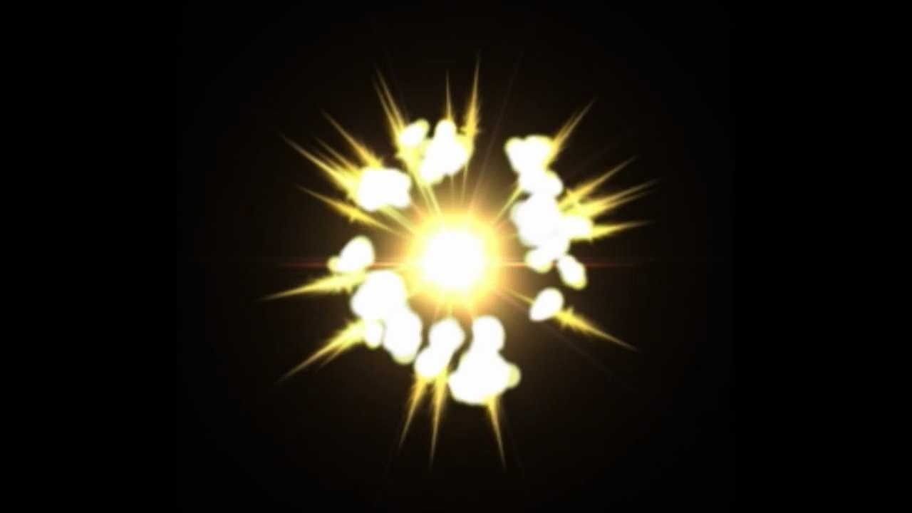 fx animation explosion  flash  after effects