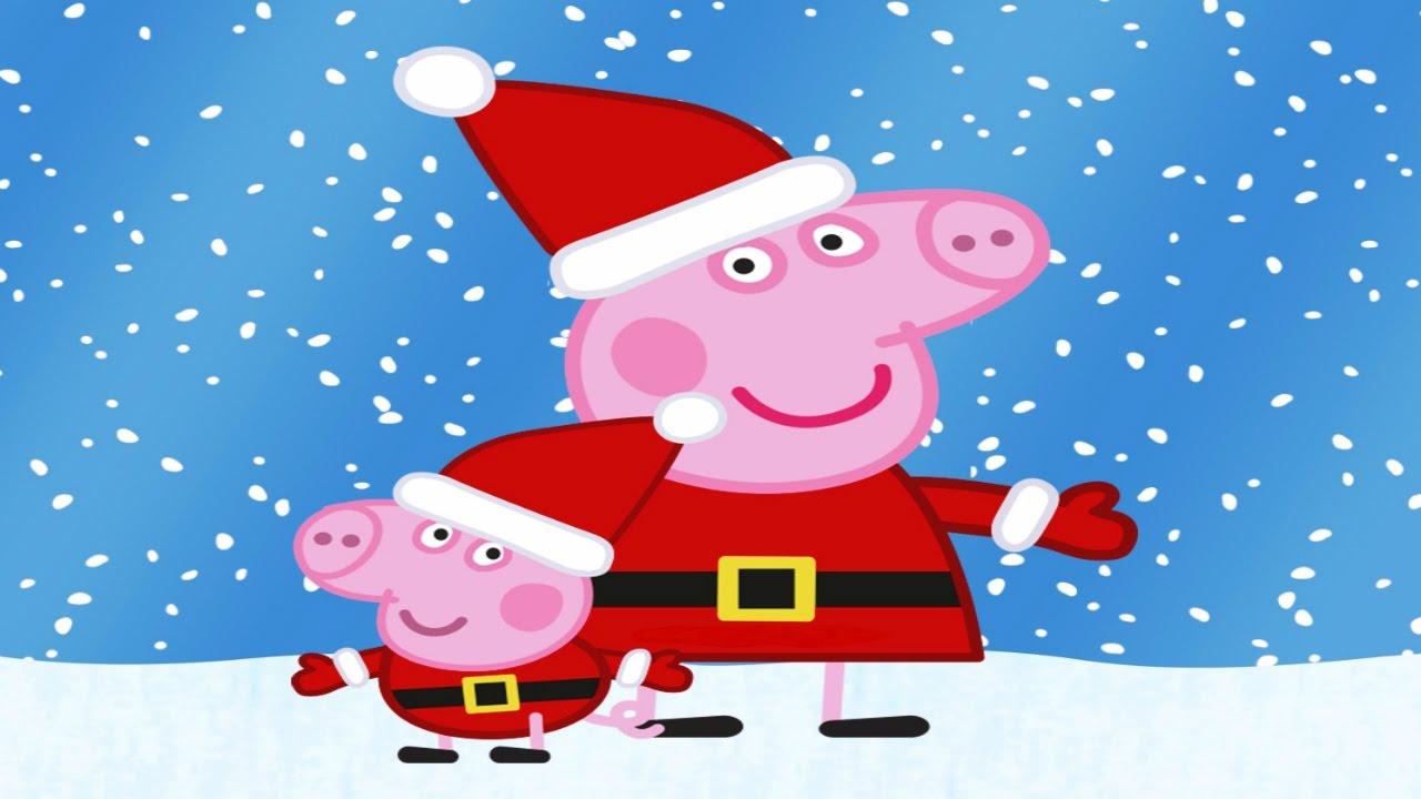 Peppa pig em portugu s desenho peppa pig e george pig de - Peppa cochon noel ...