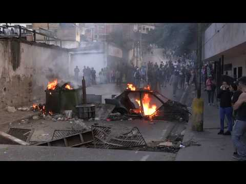 Protesters In Caracas Demonstrate After Reported Mutiny