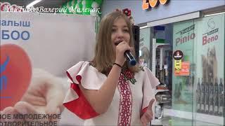 Девочка красиво поет песню ВЫШЕ ГОЛОВЫ (Полина Гагарина)!!!