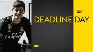 Transfer Deadline Day | Courtois to Real, Mina & Gomes to Everton & Sanchez to West Ham