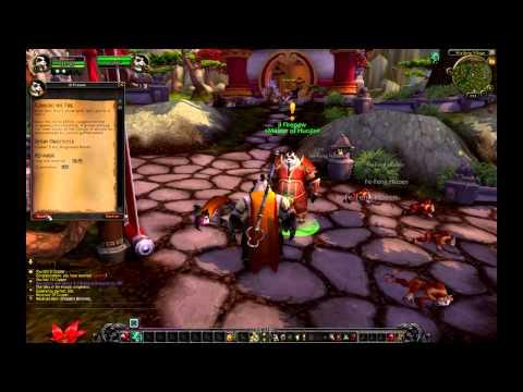 deMMOnstracja - World of Warcraft - Mists of Pandaria cz #1
