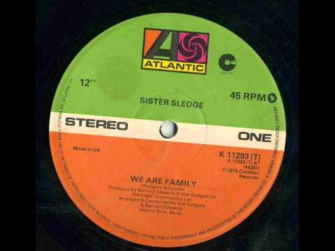 SISTER SLEDGE  We Are Family 12 version 1979