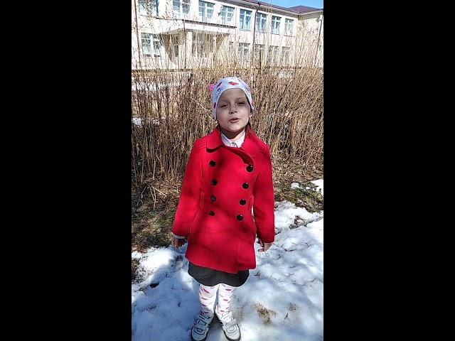 Изображение предпросмотра прочтения – НатальяФедина читает произведение «Весна (Зима недаром злится...)» Ф.И.Тютчева