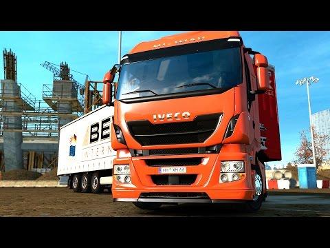 ETS 2 1 25 ProMods 2 11 Iveco Hi-Way Paris - Orleans
