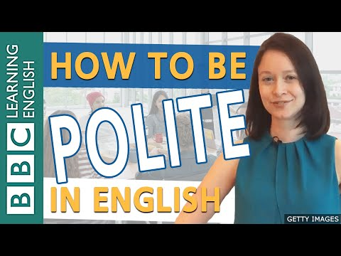 Speaking: Being Polite - How To Soften Your English