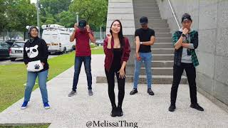 Lagi Syantik Dance Challenge by Melissa Th'ng dan Astro Radio - Stafaband