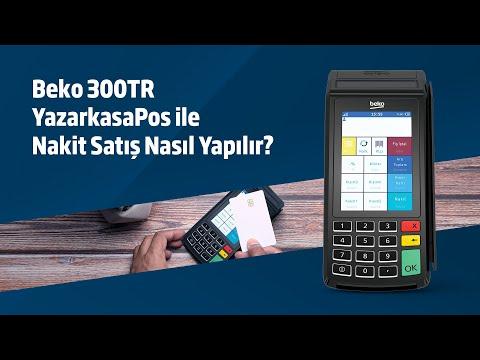 Beko 300TR YazarkasaPos ile Nakit Satış Nasıl Yapılır