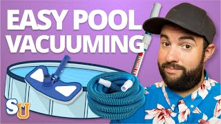 How To VACUUM A POOL (Above Ground and Inground) | Swim University