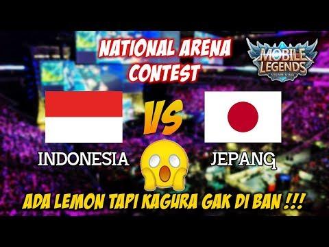 Akibat Kagura Gak di Ban RRQ Lemon Pesta Indonesia vs Jepang National Arena Contest 11112017
