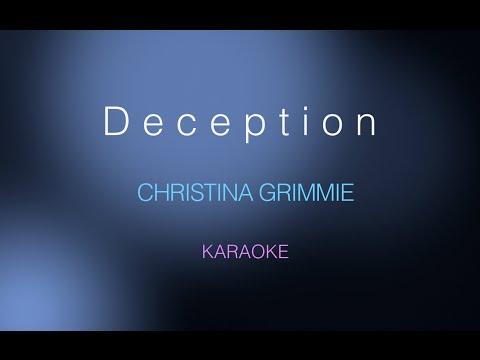 Christina Grimmie - Deception (Karaoke)