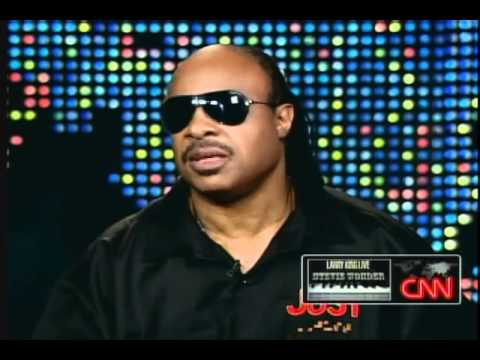 Stevie Wonder - instant composition... :)! - Larry King Live