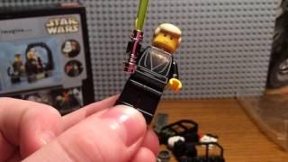 Обзор набора Lego Star Wars 7201 Final Duel II , Lego Звёздные войны 2002 года