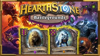 Hearthstone Battlegrounds: Mama Bear It's Ridiculously Good | Huge Beasts and Crazy Synergies