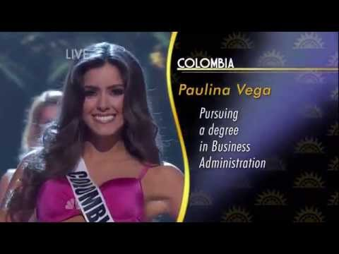 Miss Universe 2014 - Top 10  (HD)