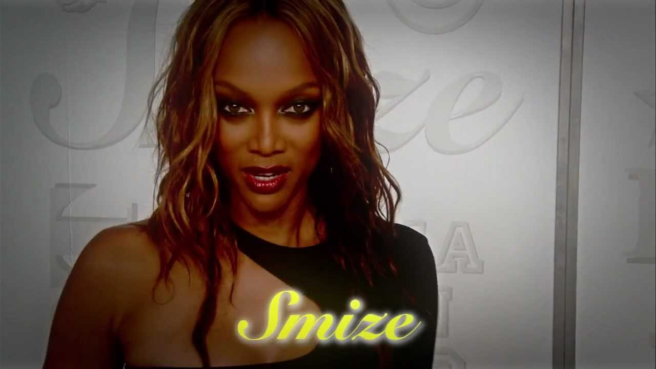 Tyra Banks calls for 'smize' to be added to the dictionary