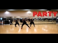 Chris Brown ft Usher, Gucci Mane - Party  The Dancing Divas   Cardio Dance
