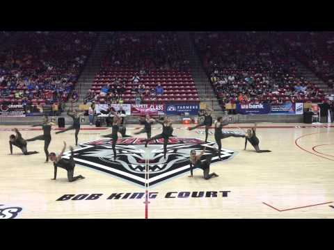 Atrisco Heritage Academy High School's Jaguar Gold Dance Team - NM State Championships 2015 Day 2
