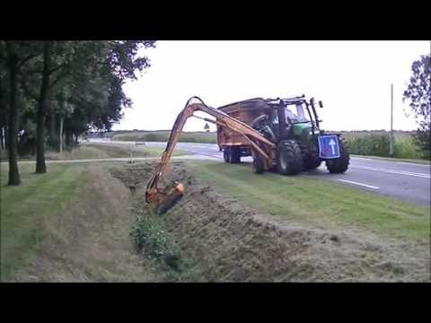 Woods Ditch Bank Mower Mowing Cranberry Dikes Doovi