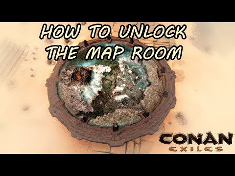 How or where to unlock the map room to fast travel through the how or where to unlock the map room to fast travel through the map conanexiles forumfinder Image collections
