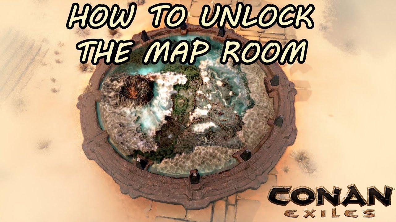 Conan Exiles Map Room Size