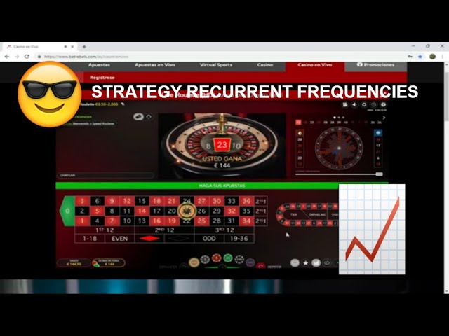 ▷ The Best European Roulette Strategy✦ Recurring Frequencies/CASINO✔️