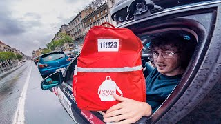 Driving a School Bag 2000 Miles Across Europe for Charity