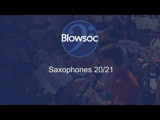 Saxophones 20/21