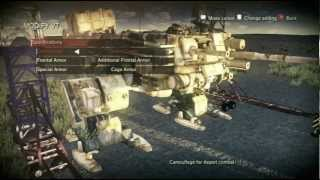 Steel Battalion: Heavy Armor VT and weapon upgrades Xbox 360 Kinect