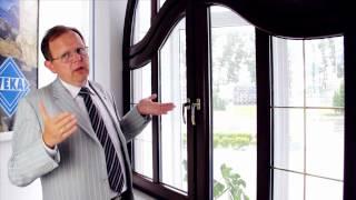 Арочное окно из профиля VEKA Swingline(, 2012-05-31T13:59:23.000Z)