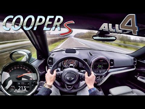 Mini Countryman 2017 Cooper S ALL4 AUTOBAHN POV Test Drive by AutoTopNL