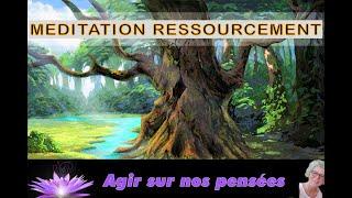 Méditation Ressourcement, méditation guidée en musique, à faire matin, midi, soir