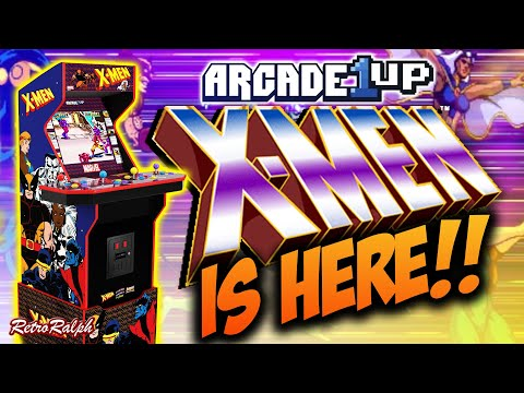 Arcade1up - CES 2021 - X-Men is HERE! from Retro Ralph