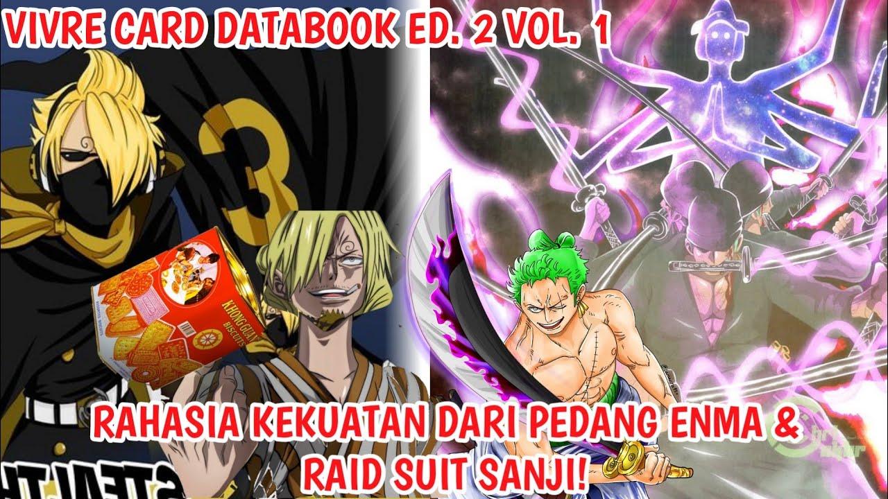 TERUNGKAP! Kekuatan Rahasia Dr PEDANG ENMA & RAID SUIT SANJI! - VIVRE CARD DATABOOK (Fakta One Piece