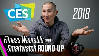CES 2018 Fitness Wearable/Smartwatch Round-Up: Garmin, Casio, Suunto, Samsung, MisFit and more!