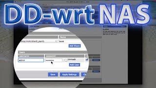 (Ağa Bağlı Depolama)DD-WRT USB Depolama NAS