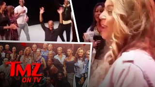 Beyonce Barges In! | TMZ TV