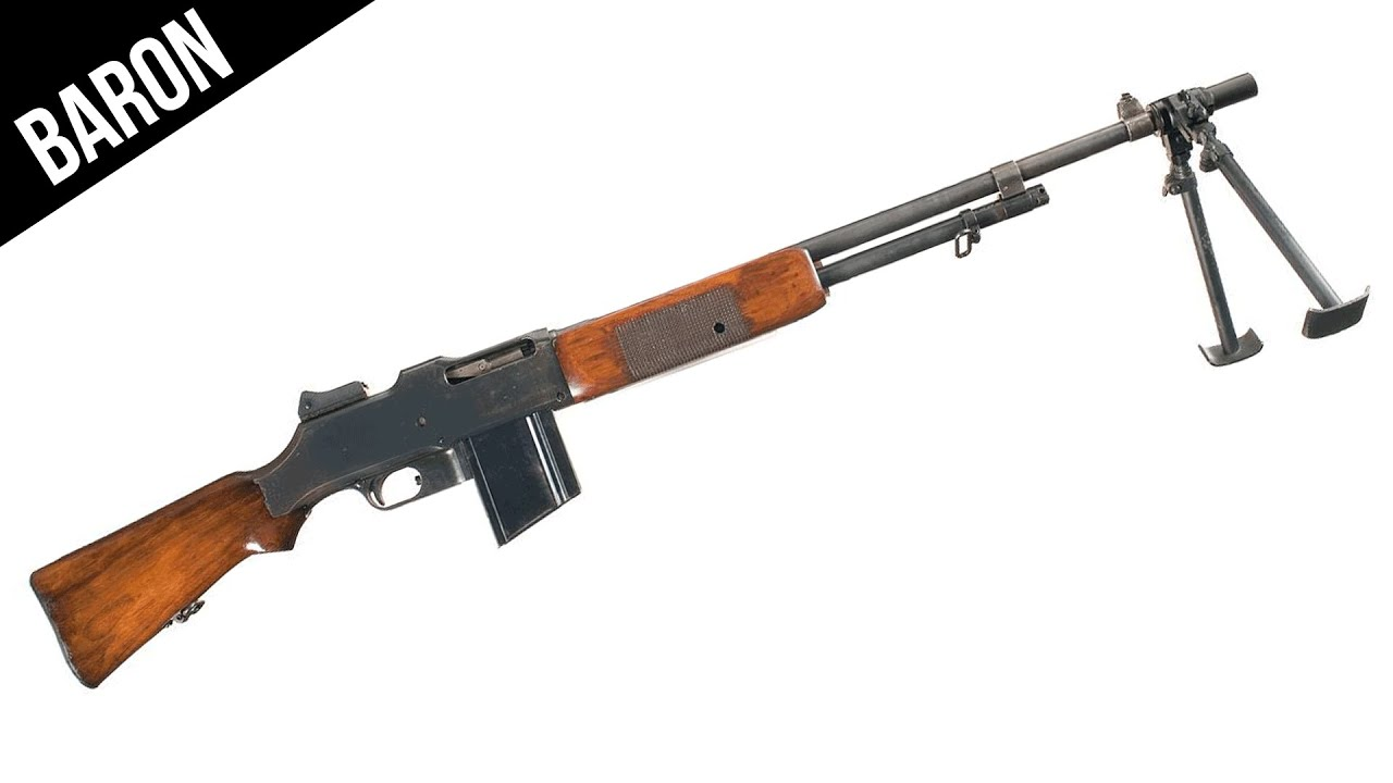 Browning Automatic Rifle Full Auto