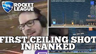 Daily Rocket League Highlights: FIRST CEILING SHOT IN RANKED