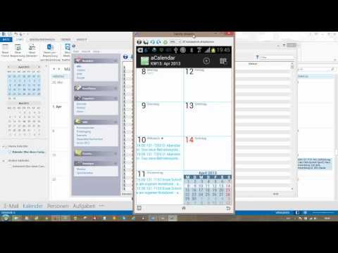 Outlook-Kalender Mit Dem Android-Smartphone Synchronisieren