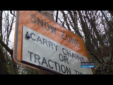 Winter's not done yet in Portland metro region