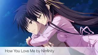 How You Love Me - Nightcore